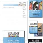 Anja Weiss, CorporateDesign-Entwicklung für Guido Kratz