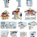 Anja Weiss, Illustrationen NettoLohn-Optimierung
