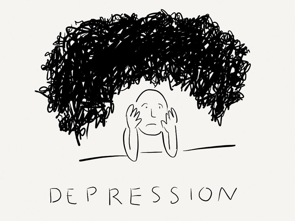Depression Zeichnen