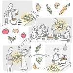 Illustration für eine Webseite, , Anja Weiss,Hannover, Food