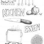 Kochillustration