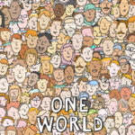 Illustration, Anja Weiss, Hannover, one world, Menschen, people