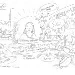 """Illustration derTätigkeit von Trainern & Coaches des Seminarzentrums """"echte Freunde"""