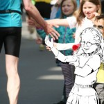 Illustration, Marathon Hannover Foto/Illustration