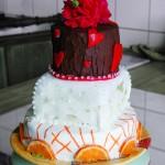 Torten-Design, die fertige Torte