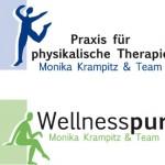 Logo für eine Praxis für Physiotherapie und Wellness, Anja Weiss Logo Krampitz, Anja Weiss, Hannover, Logo, Corporate Design Entwicklung