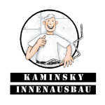 Logo Kaminsky Innenausbau, Start up, Sprachinstitut, Logo, Bildmarke, Corporate Design, Logoentwicklung, Gestaltung, Anja Weiss Graphik Design, Logoentwicklung, Hannover, Illustration, Graphic Recording