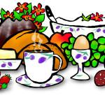 Anja Weiss, Frühstück, Zeichnen, Zeichnung, Graphic Recording, Sketch, Sketchnote, Skizze, Bild, Zeichenagentur, Hannover, Grafik-Design, Illustration, Food
