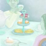 Anja Weiss, Hannover, Malerei mit Photoshop. Teatime mit Damen.
