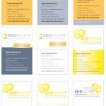 appreciate_Visitenkartenlayout Logo, Layout, CD, Geschäftsausstattung, Graphik Design, Anja Weiss, hannover