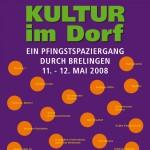 Brelinger Mitte, Kultur im Dorf 08, Grafik-Design Anja Weiss, Hannover, Brelinger Mitte, Kultur im Dorf 14 - Plakat, Grafik-Design, Brelinger Mitte