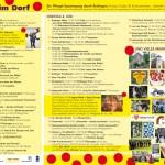 Brelinger Mitte, Kultur im Dorf 14 - Flyer innen