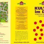 Brelinger Mitte, Kultur im Dorf 14 - Flyer Titel