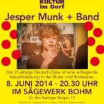 Brelinger Mitte, Kultur im Dorf 14 - Plakat Jesper Munk