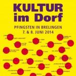Brelinger Mitte, Kultur im Dorf 14 - Plakat, Brelinger Mitte, Kultur im Dorf 14 - Plakat