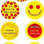 Brelinger Mitte, Kultur im Dorf 14 - Buttons, Grafik-Design, Brelinger Mitte, Kultur im Dorf 14 - Plakat, Grafik-Design, Brelinger Mitte, Kultur im Dorf 14