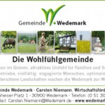 Corporate Design Gemeinde Wedemark Imageanzeige, Gemeinde Wedemark Logo, Slogan, Corporate Design Entwicklung, Geschäftsausstattung, Corporate Design, Grafik-Design, Logo, Anja Weiss Hannover