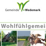 Corporate Design Gemeinde Wedemark Postkarte, Gemeinde Wedemark Logo, Slogan, Corporate Design Entwicklung, Geschäftsausstattung, Corporate Design, Grafik-Design, Logo, Anja Weiss Hannover