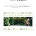 Corporate Design Gemeinde Wedemark Fragebogen Sportentwicklung, Gemeinde Wedemark Logo, Slogan, Corporate Design Entwicklung, Geschäftsausstattung, Corporate Design, Grafik-Design, Logo, Anja Weiss Hannover