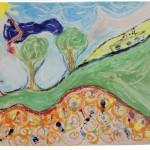 Kunstprojekt, ZweiMal, Workshop für Paare, Paarbild malen mit Guido Kratz, Keramikbild