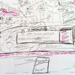 Graphic Recording Praxismanagement, Skizze, SketchNote, Zeichenagentur, zeichnen