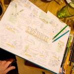 Ideendinner Frauenförderung, Waldlichtung, Anna Brandes, mitessenspieltman, Inspiration, Graphic Recording
