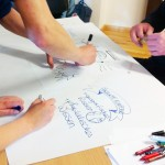 Seminar_Bundesakademie 15 · Graphic Recording, Seminar Anja Weiss, Hannover