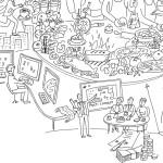 Illustration, Marché, Keymessageillustration, Anja Weiss, Hannover, Zeichenagentur