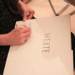 zeichnen, Zeichenagentur, Ideendinner Werte, Waldlichtung, Graphic Recording, Anja Weiss, Hannover