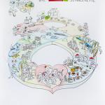 vamos, Graphic Recording, Zeichenagentur, Anja Weiss, zeichnen, visualisieren, Reise, Reiseveranstalter, Servicekette, Mitarbeiterveranstaltung, Kinderbetreuung