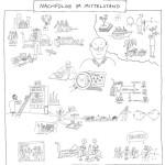 Nachfolge im Mittelstand, Graphic Recording, Illustration, zeichenagentur, Anja Weiss, zeichnen, Storytelling, Illustration, Hannover