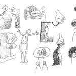 skizzen-beratung-1, Anja Weiss, Illustration, Beratung, Zeichnen, zeichenagentur, Hannover, Graphic Recording