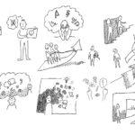 skizzen-beratung-2, Anja Weiss, Illustration, Beratung, Zeichnen, zeichenagentur, Hannover, Graphic Recording