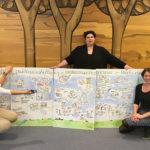 Nachhaltigkeit 2_kl, Graphic Recording, Tanja Föhr, Tanja Wehr, Anja Weiss, zeichnen, Nachhaltigkeitsstrategie, Umweltministerium Niedersachsen, visualisieren, Visualisierung, Hannover