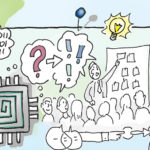 vispiron 4, Illustration, Visualisieren, Unternehmenswerte, Werte, Anja Weiss, Hannover, Zeichenagentur, #kunstinunternehmen