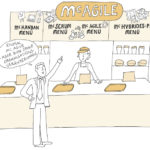 Illu_McAgile_kl, Illustration, Anja Weiss, digital, zeichnen, Hannover, Graphic Recording