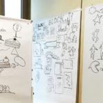 MaxBorn18_Workshop_kl,, Graphic Recording, Max-Born-Berufskolleg, Anja Weiss, Workshop, zeichnen, Hannover