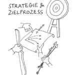 PELTrafo_Strategie_kl, Illustration, Anja Weiss, digital, zeichnen, Hannover, Graphic Recording