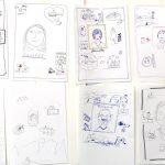 Workshop_verdi18_kl7, zeichnen, Sketchnotes und Graphic Recording, Anja Weiss, Verdi Fortbildung, Workshop 2018, Hannover