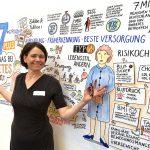 diabetes_kl1, Graphic Recording, zeichnen, Bild, Anja Weiss, Hannover, Zeichenagentur, Visualisierung, Diabetes, live Zeichnen