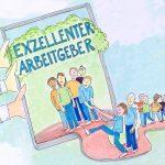 Abenteuerhaus3, Workshop, Event, Teambildung, Exzellenter Arbeitgeber, Graphic Recording, Illustration, Anja Weiss, Hannover, zeichnen, live
