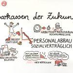 verdiSPK18_Forum2_kl, Graphic Recording, Personalrat Sparkasse, Verdi, Vollversammlung, zeichnen, Foren, visualisieren, Teilnehmer, zeichnen, Hannover, Anja Weiss