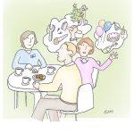 apd12_kl, Anja Weiss, Illustration, Altenpflege, Demenz-WG, APD, Gelsenkirchen, zeichnen