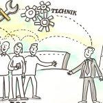 MTU4_kl, Illustration, Graphic Recording, Visualisierung, Führungsgrundsätze, Leitbild, Strategie, Anja Weiss, Hannover, zeichnen, Visualisierung
