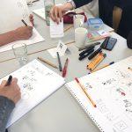 Workshop_verdi_kl_3,verdi, Workshop, Sketchnotes, zeichnen, Anja Weiss, Hannover, Bildungswerk
