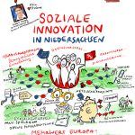 sozialeInnovationSkizze_kl, Sketchnote, Illustration, soziale Innovation, Skizze